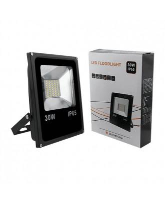 Прожектор светодиодный LED SMD 30W тепло-белый 3000K IP65