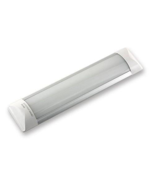 Светильник светодиодный накладной Эконом ДПО 10W 300x74x23 6500К Опал
