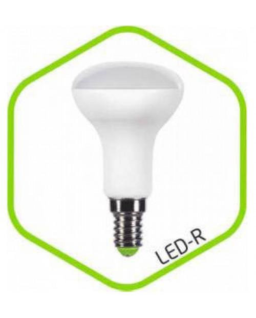 Лампа светодиодная Грибок R50 E14 5W 220V 4000K белая ASD