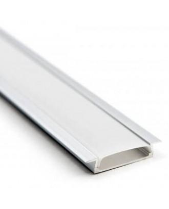 Профиль алюминиевый 3006 ANOD с экраном 2 м