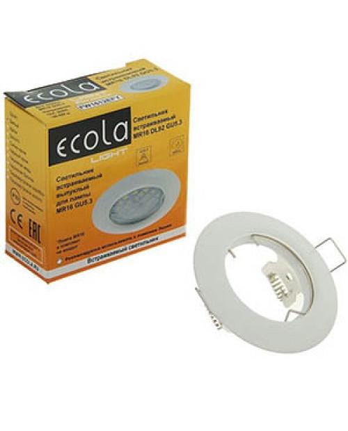 Светильник встраиваемый DL92 GU5.3 30x80 белый Ecola