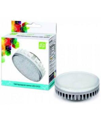 Светодиодная лампа GX53 10W 220V 4000K белая ASD