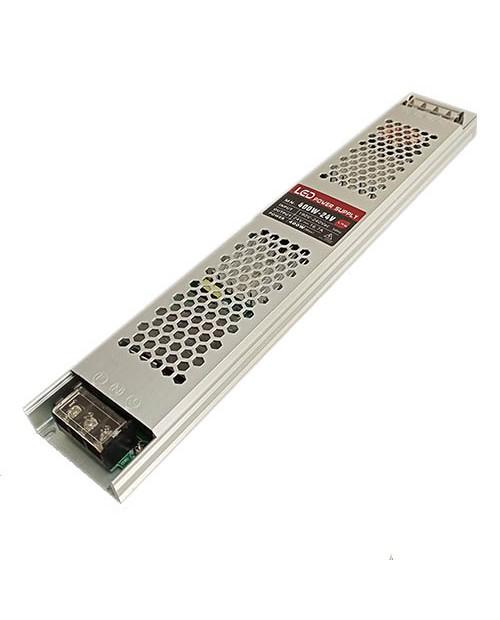 Блок питания 400W 24V (16,7A) IP20 Slim без вентилятора