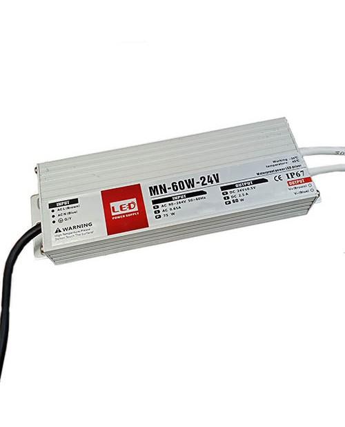 Блок питания 60W 24V (2,5A) IP67