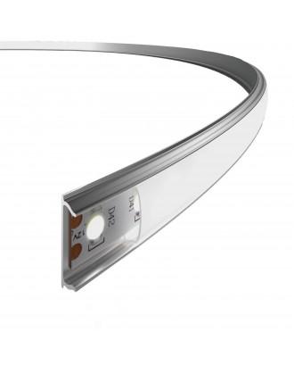Профиль алюминиевый гибкий 1506 ANOD с экраном 2 м