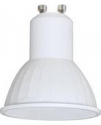 Светодиодная лампа GU10 5.4W 4200K 220V белая Ecola