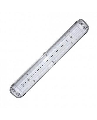 Светильник светодиодный пылевлагозащищенный СГ-218-18 Айсберг 18W 600x100x65 4500/5500K IP65