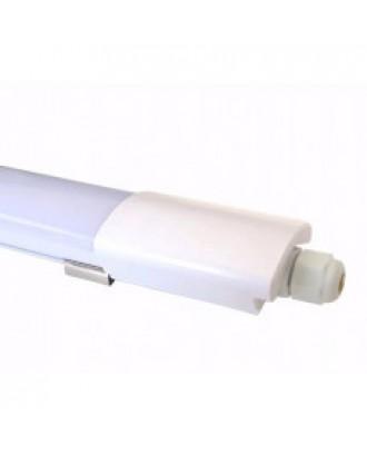 Светильник светодиодный пылевлагозащищенный DPO 40W 1200x40x24 6500К IP65