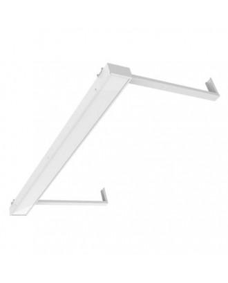 Светильник светодиодный для школьной доски СГ-236-Ш-20 20W 4000/5000К 1195х100х50мм Опал на кронштейнах