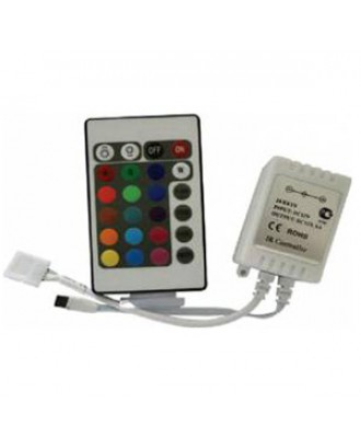 Контроллер RGB 12V 72W 12A c ИК пультом Ecola
