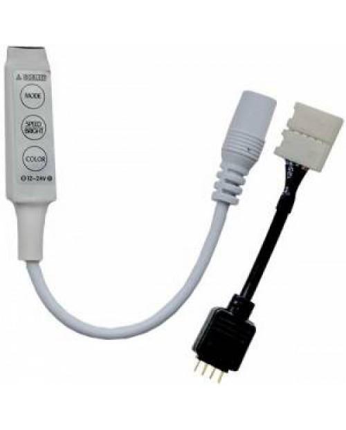 Контроллер RGB MINI 12V 72W (24V 144W) 6A Ecola