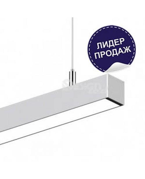 Светильник подвесной светодиодный линейный SG-128-2000х70х70 Design 128W 6000К