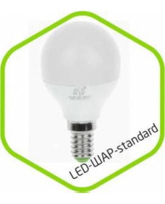 Лампа светодиодная Шар P45 E14 7,5W 220V 4000K белая standart ASD