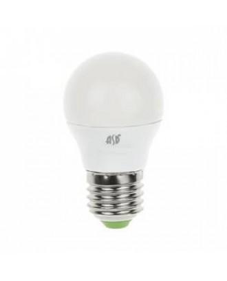 Лампа светодиодная Шар P45 E27 7,5W 220V 4000K белая standart ASD