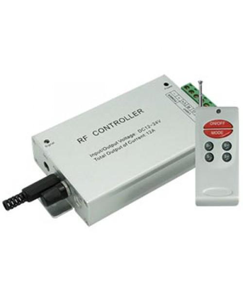 Аудиоконтроллер RGB 12A RGB (цветомузыка) ПДУ RF