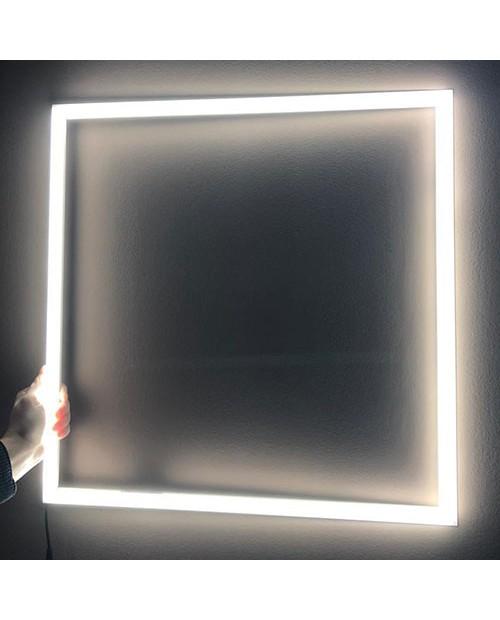 Светильник светодиодный накладной РАМКА 48W 595x595х15 220V 4000/6500K