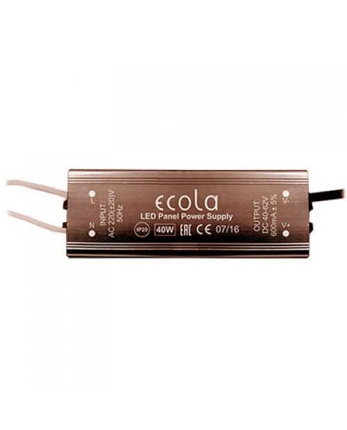 Блок питания для ультратонких панелей 40W 600mA Ecola