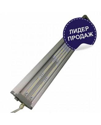 Светильник светодиодный промышленный СГ-080-ДПО-У 80W 615x105x55 IP65