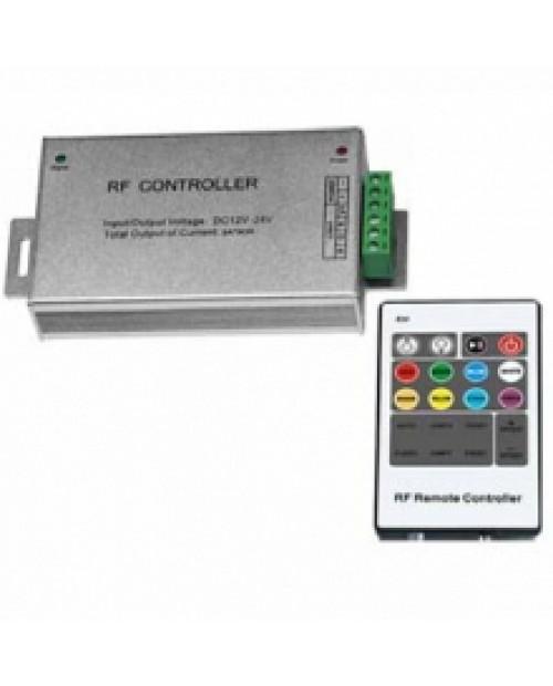Контроллер RGB LN-RF20B-18A (12/24V, 216/432W, ПДУ RF 20кн)