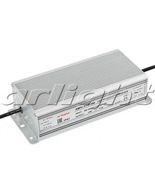 Блок питания ARPF-ST48200 (200W, 4200mA, PFC) IP67 Arlight