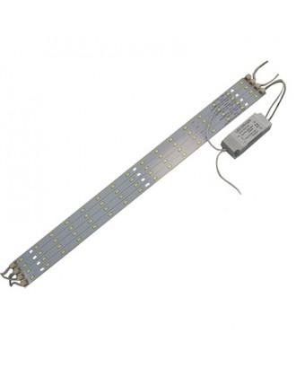 Комплект светодиодных линеек с источником тока 36W